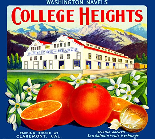 claremont-los-angeles-county-college-heights-packinghouse-orange-citrus-fruit-crate-box-label-art-pr