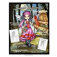 Lunar Mysteries Coloring Book: Lacy Sunshine Coloring Book Fairies, Moon Goddesses, Surreal, Fantasy and More