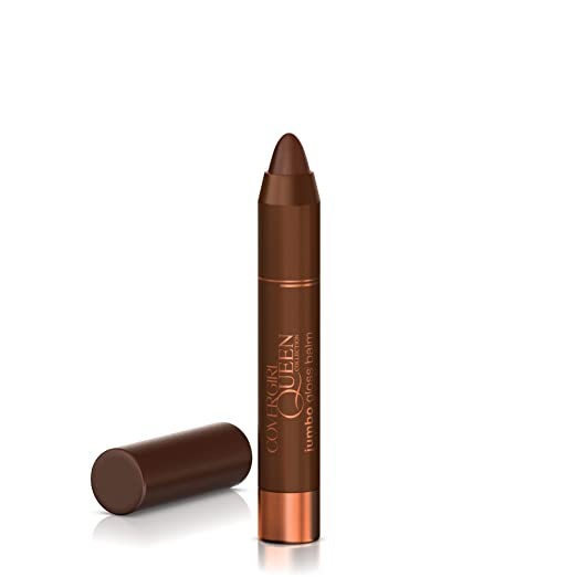 COVERGIRL Queen Jumbo Gloss Balm Brown Sugar Q863, .13 oz (packaging may vary)