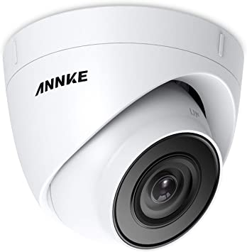 Opinión sobre ANNKE C500 5MP POE Dome Cámara de vigilancia con color de visión nocturna, compatible con ONVIF Hikvision, acceso remoto e IP67 resistente al agua para exterior/interior