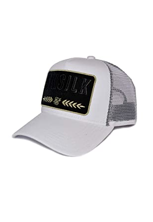 Sik Silk SS-15960 Washed Cotton Mesh Trucker Cap - White White ...