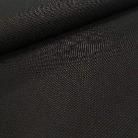 Tela por metros de panamá para punto de cruz - Tela Aida de algodón - Ancho 150 cm - 5,5 puntos/cm - 14 cuentas - Largo a elección de 50 en 50 cm | Negro: Amazon.es: Hogar