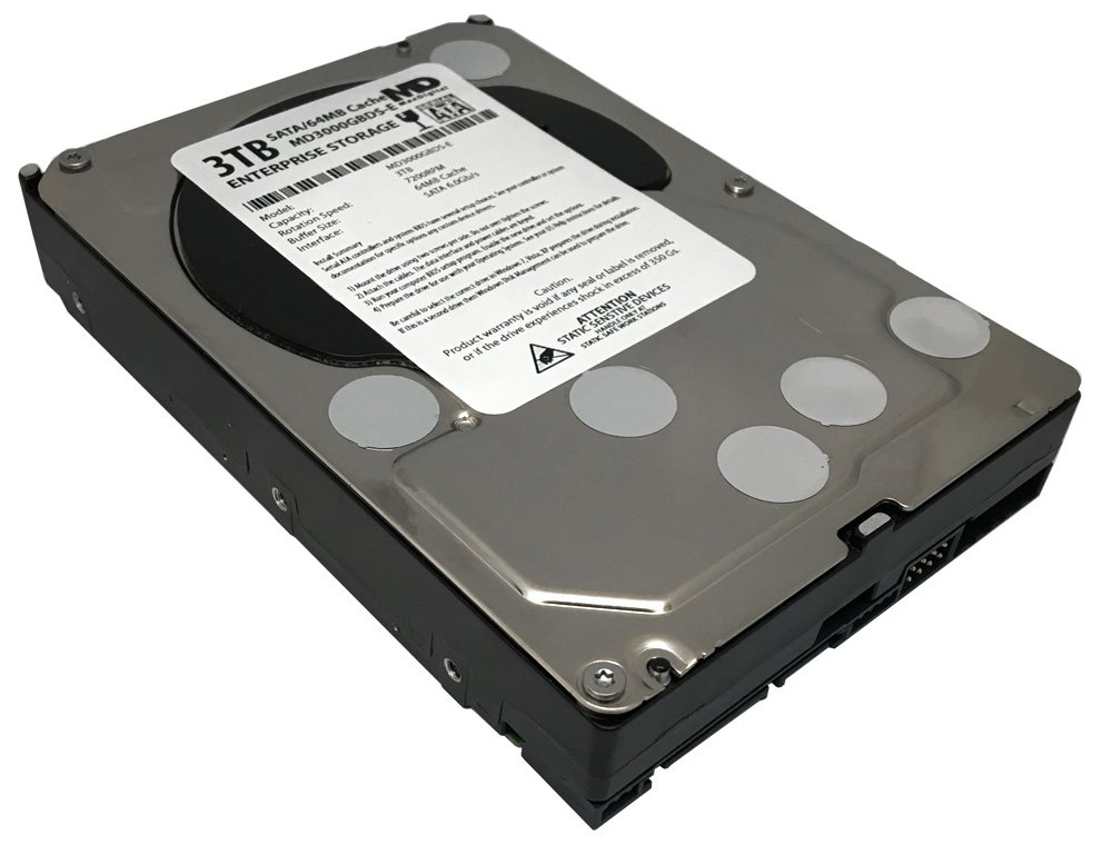 MaxDigital 3TB 7200RPM 64MB Cache SATA III 6.0Gb/s (Enterprise Storage) 3.5'' Internal Hard Drive w/2 Year Warranty by MaxDigital