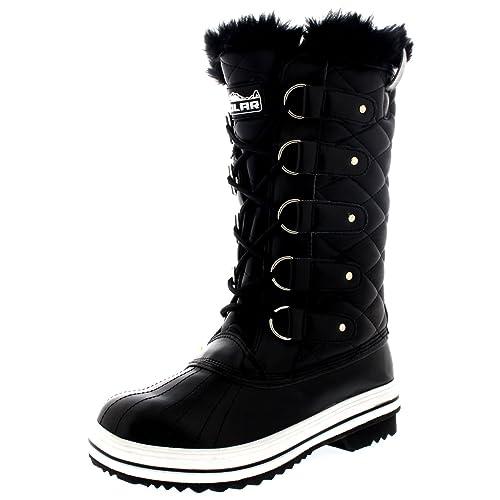2eff93fcc09 Polar Women's Nylon Tall Winter Snow Boot