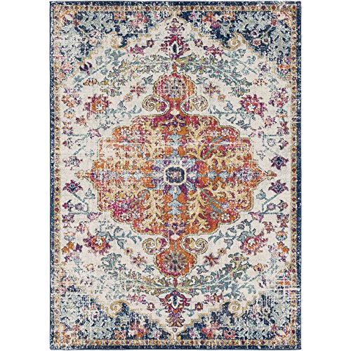 Odelia Beige Updated Traditional Area Rug 5'3