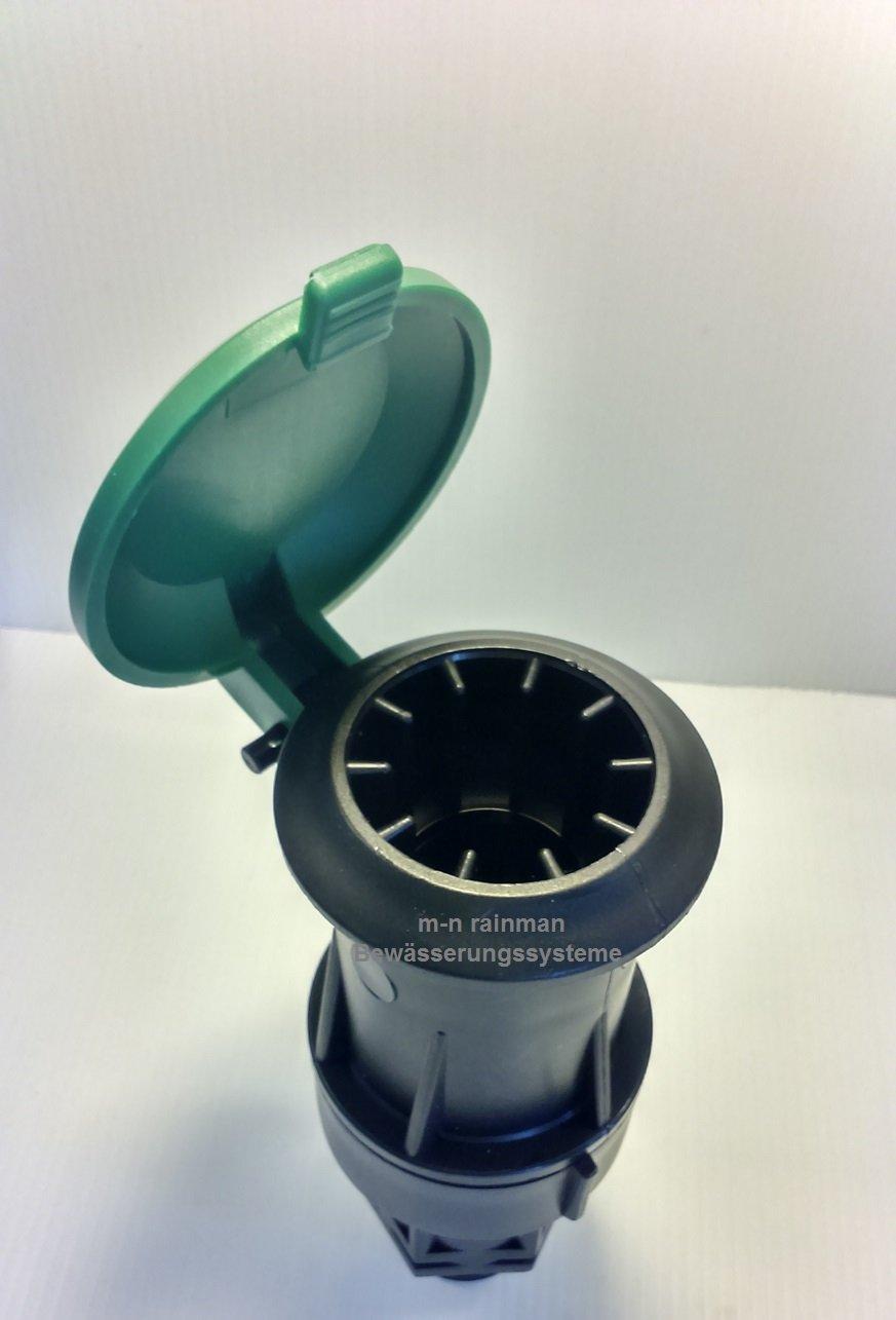 SAB Schnellkupplungsventil / Wassersteckdose 3/4\'AG oder 1\'AG (1\' Aussengewinde)