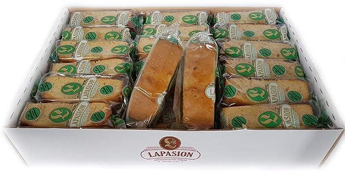 LAPASION - Bizcochos sin azúcar con edulcorante 2 Kg