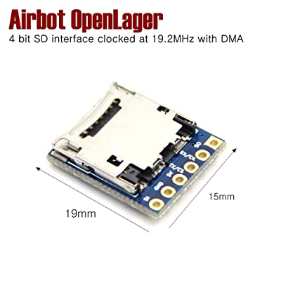 Airbot OpenLager Faster 4 bit SD Interface clocked at 19.2MHz with DMA for Flight Controller Quadcopter LEACO: Toys & Games