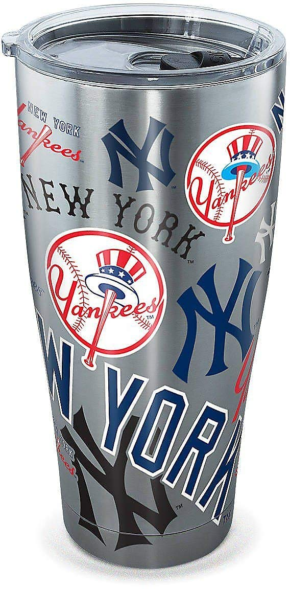 Tervis 30 oz. Stainless Steel Yankees Tumbler Tervis One Size by Tervis (Image #1)