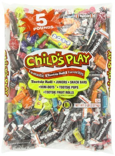 Tootsie Child's Play Candy, 5 Pound by Tootsie [Foods]