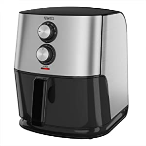 TEWELL Air Fryer, Mini Oven for Air Frying, Roasting, Reheating and Dehydrating with 6.8-Quart Nonstick Basket, XXL Family-Size Fryer