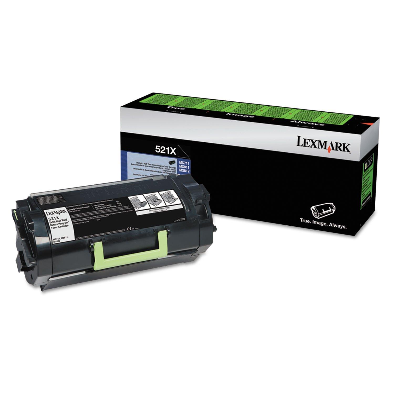 Lexmark 52D1X00 Cartucho de tóner Original Negro 1 Pieza(s ...