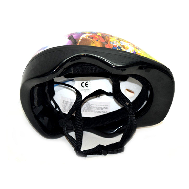 890 Bicicleta Casco Ni/ños Casco con protecci/ón individual en Disney Bakugan Dise/ño