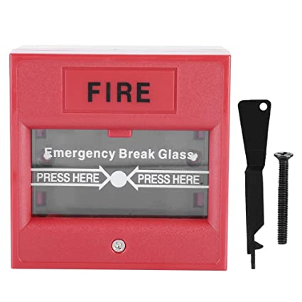 Botón de emergencia, Botón de alarma de incendio de salida ...