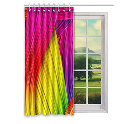 fabric window treatments wooden fabric window curtains wallpaperfx custom polyester treatments for room home decorate50 amazoncom