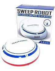 Aspiradora Robótica Limón, Inteligente con Sensor Aspira Polvo Pelusa cosas pequeñas Silencio sin Ruido Recargable apto para pisos, ricones, abajo de los muebles de la casa