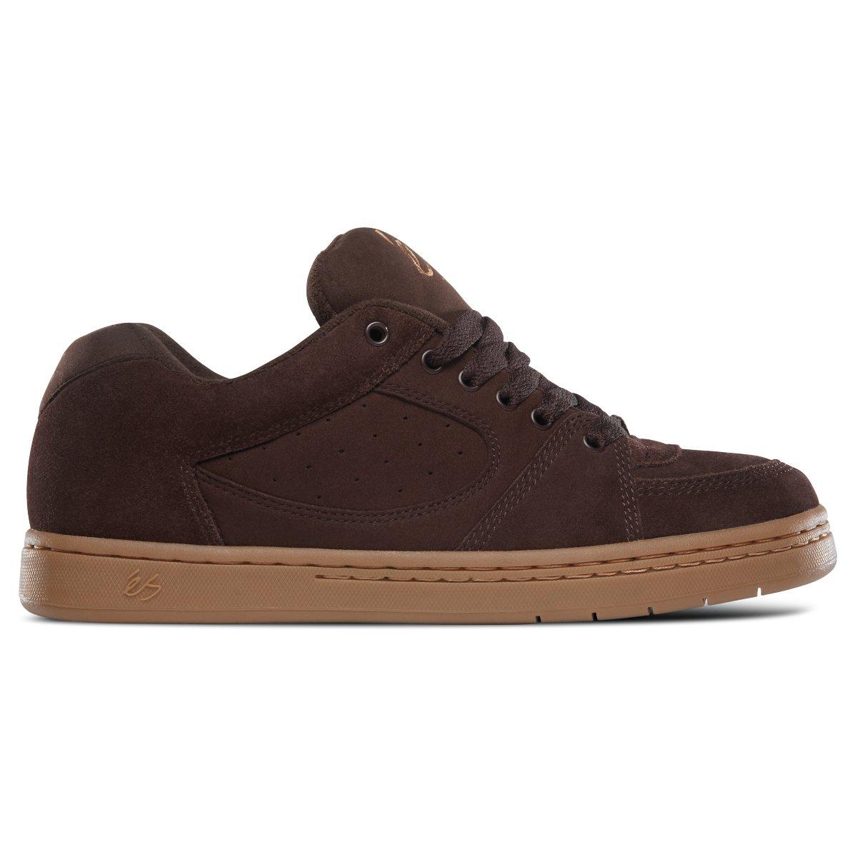 eS Men's Accel Og Skate Shoe 12 D(M) US|Chocolate/Gum