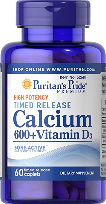 Amazon Com Puritan S Pride Calcium Carbonate 600 Mg
