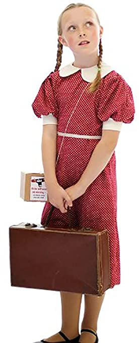 1940s Children's Clothing: Girls, Boys, Baby, Toddler 1940S-WW2-Wartime-NARNIA-World Book Day - All Ages $36.99 AT vintagedancer.com