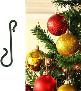 Yuccer Navidad Ganchos, 150PCS Ganchos para Colgar Bolas de Navidad Pequeño Gancho S (Verde, 150PCS): Amazon.es: Hogar