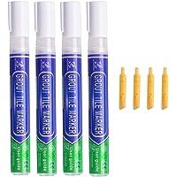 Grout Pen Wit, 4 stks Waterdichte Grouting Pennen, Tegel Grout Reviver Pen/Grout Restorer Marker Pennen voor Herstel…
