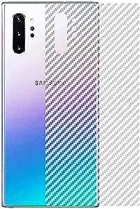 Carbon Fiber Sticker Film Transparent Color to Protect Back for Samsung Note 10 PLUS