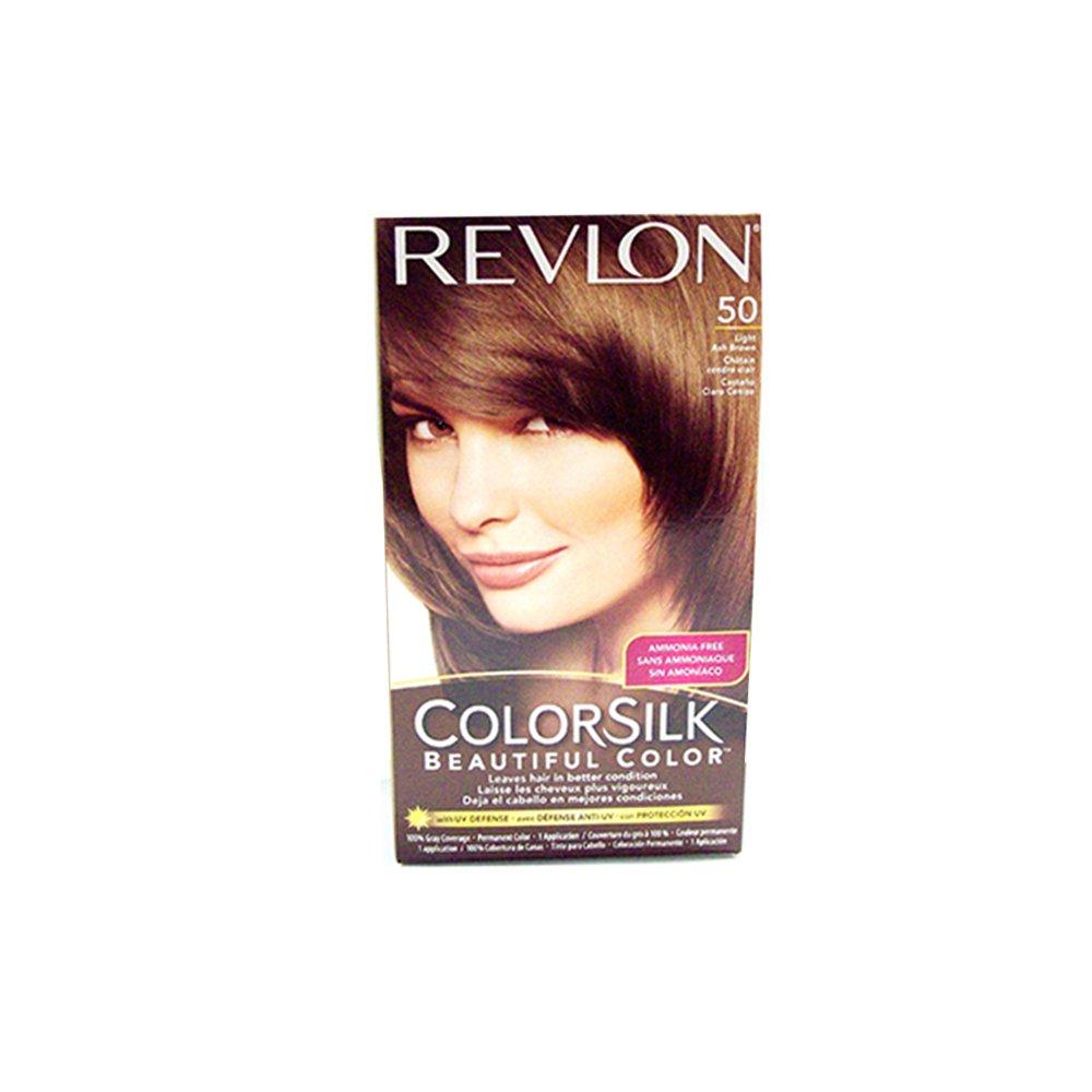 Revlon Hair Color Light Ash Brown(50) 695509