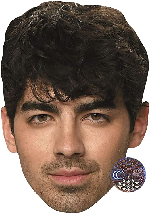 Larger than life mask. Nick Jonas Beard Big Head