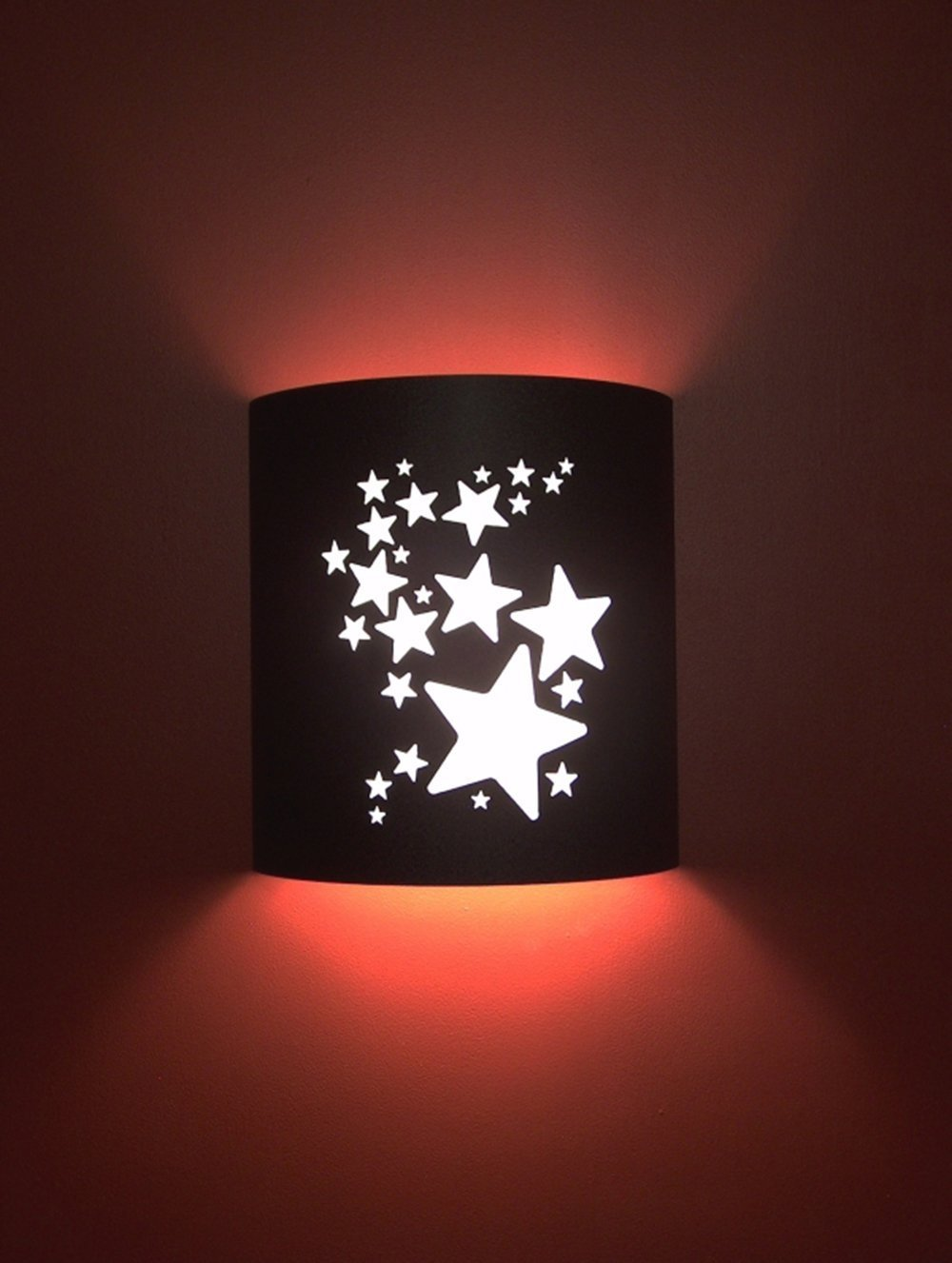 Stars Black Home Movie Theater Sconces