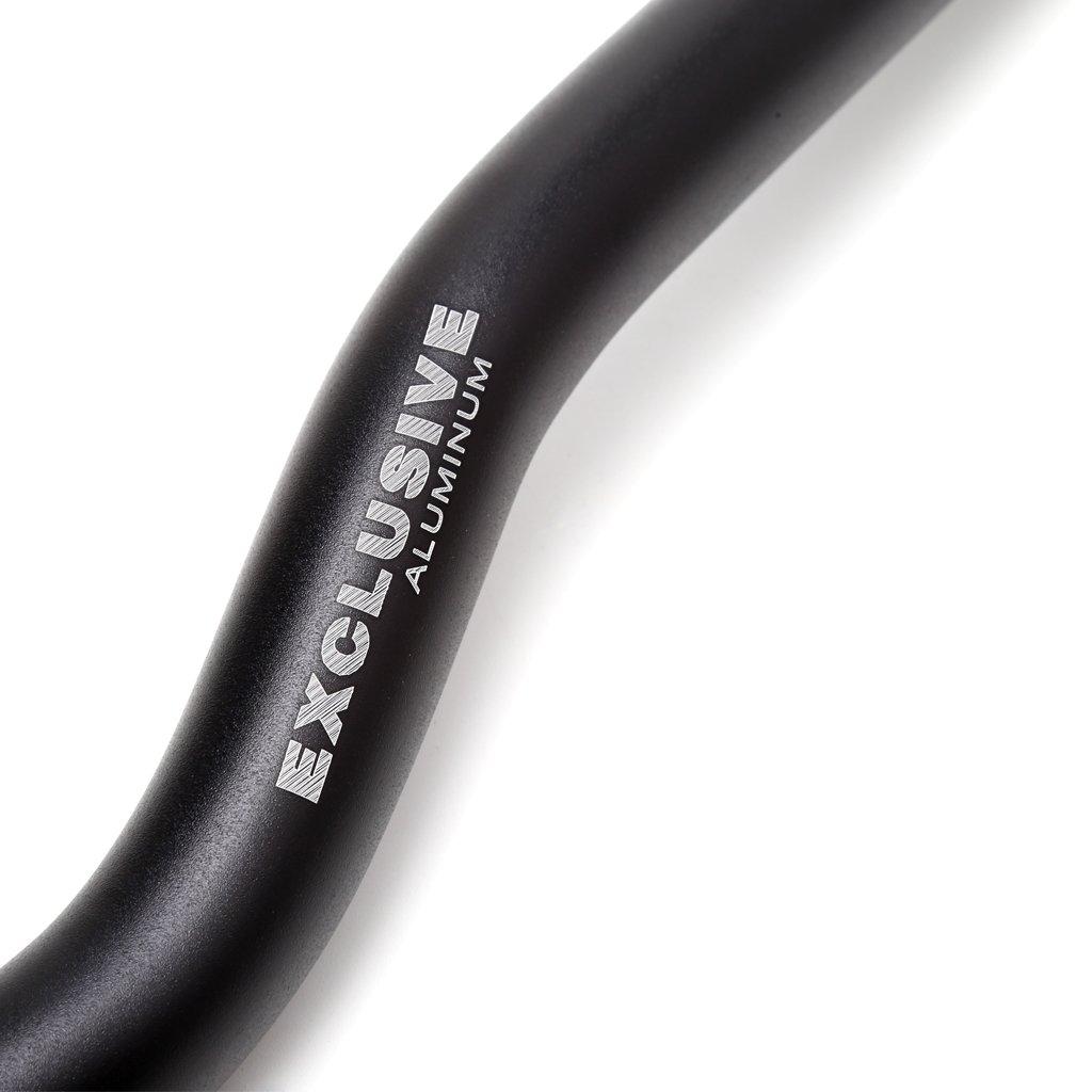 Suweqi 25,4mm 62 cm Riser Bar F/ür Mountain Road Fahrrad Aluminiumlegierung Lenker
