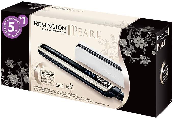 Remington S9500 Pearl - Plancha de Pelo, Cerámica Avanzada con ...