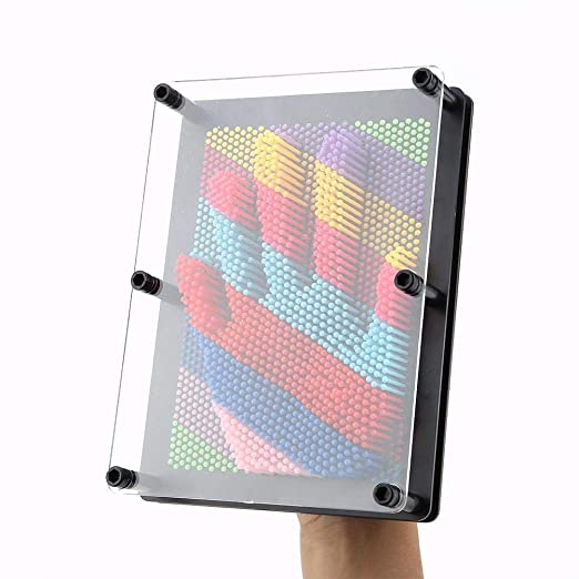 Juego para crear formas en 3D, 3D Pin Art Juego de Mesa Novela ...