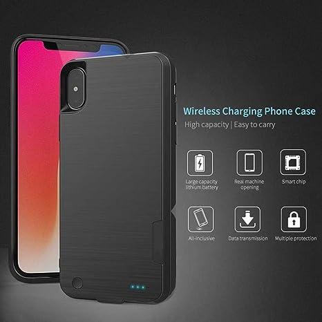 PAWACA Funda de batería para iPhone X/XS,4000 mAh,cargador ...