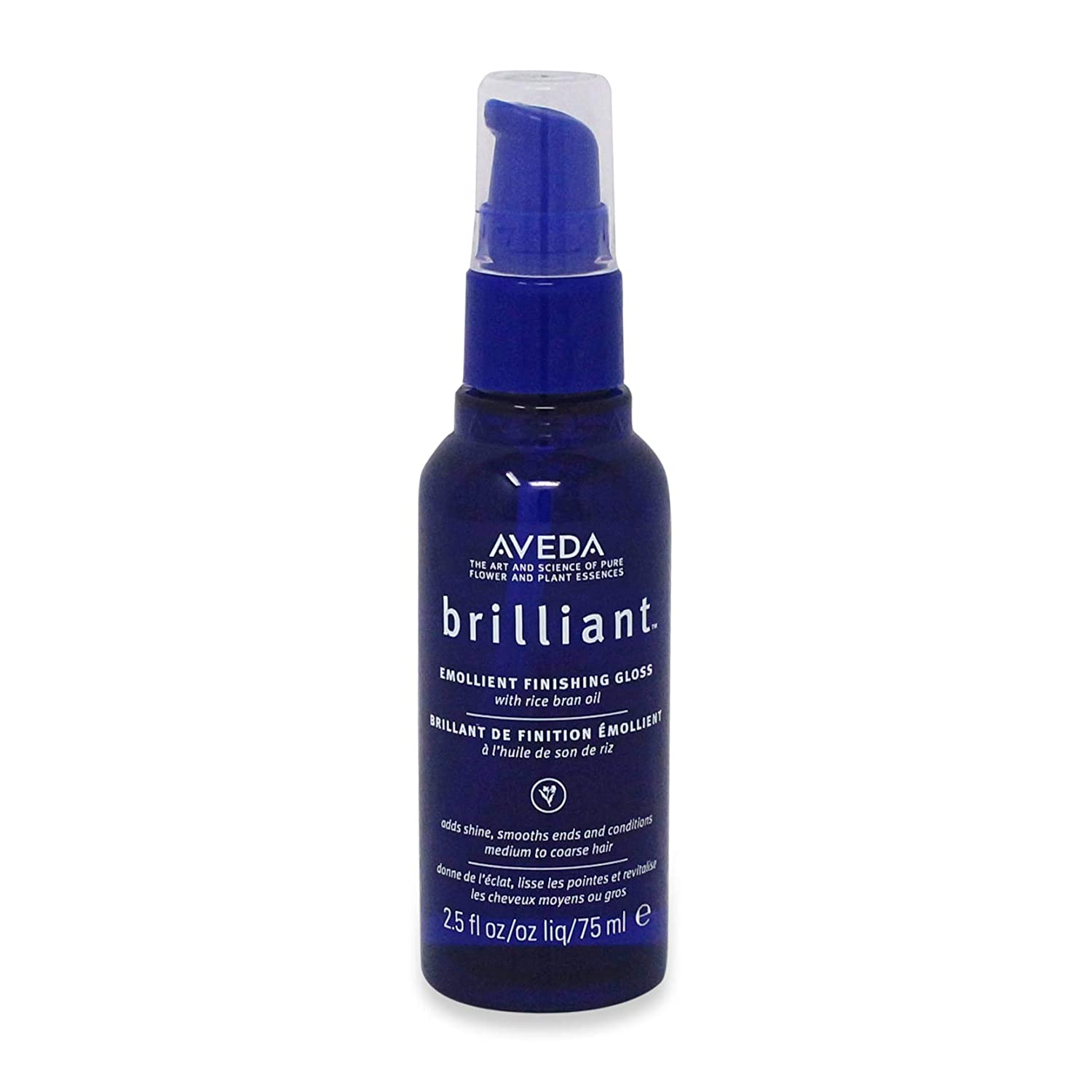 AVEDA by Aveda BRILLIANT EMOLLIENT FINISHING GLOSS WITH RICE BRAN OIL 2.5 OZ for UNISEX