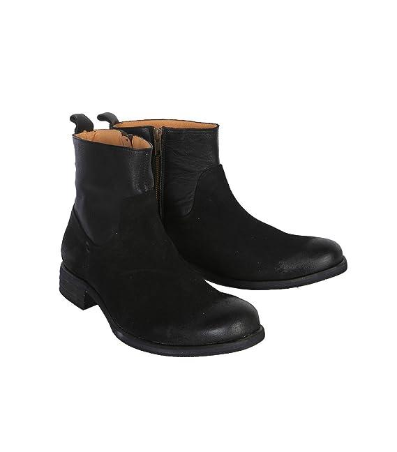 nobrand Hombre Botas Botines Boots - Algodón - Negro negro 47: Amazon.es: Ropa y accesorios
