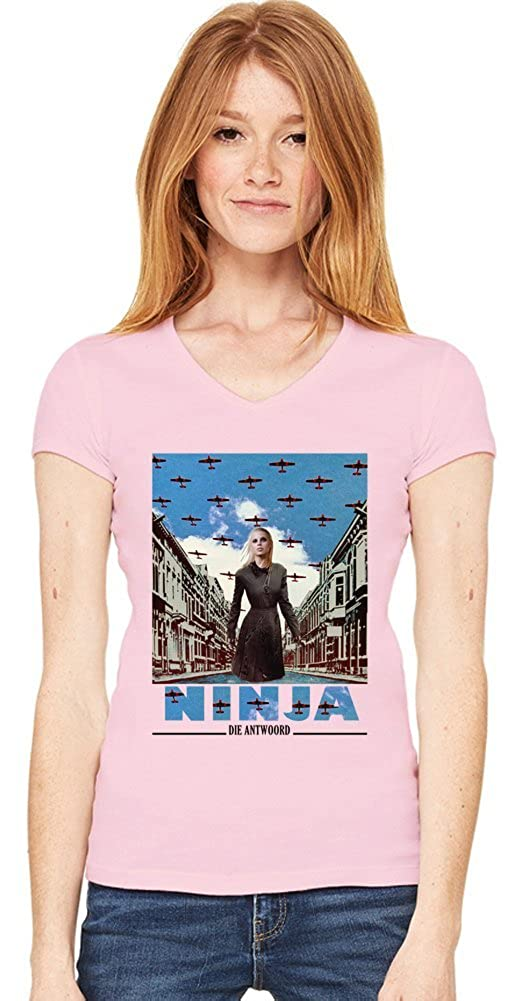 Die Antwoord Enter The Ninja Womens V-neck T-shirt XX-Large ...