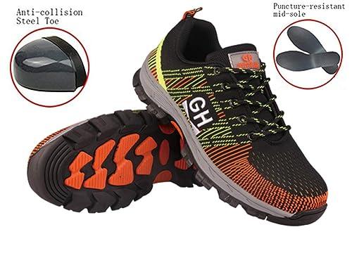 b57781119e08 GUDUN Breathable Unisex Steel Toe Boots Men s Comp Steel Toe Boots Steel  Toe Safety Work Shoes