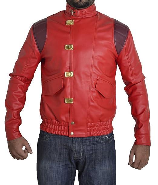 8cf82122f7 Toff Hub Men s akira manga V1 original faux leather jacket sizes XXS ...