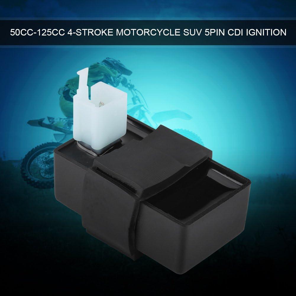 Caja de encendedor CDI de 5 pines DC 50cc 70cc 90cc 110cc 125cc Motor Pit Dirt Bike ATV Quad