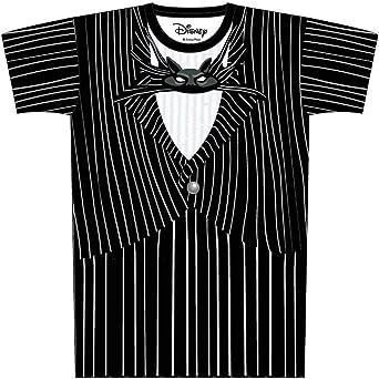 Disney Pesadilla Antes de Navidad Jack Skellington Cosplay Camiseta: Amazon.es: Ropa y accesorios