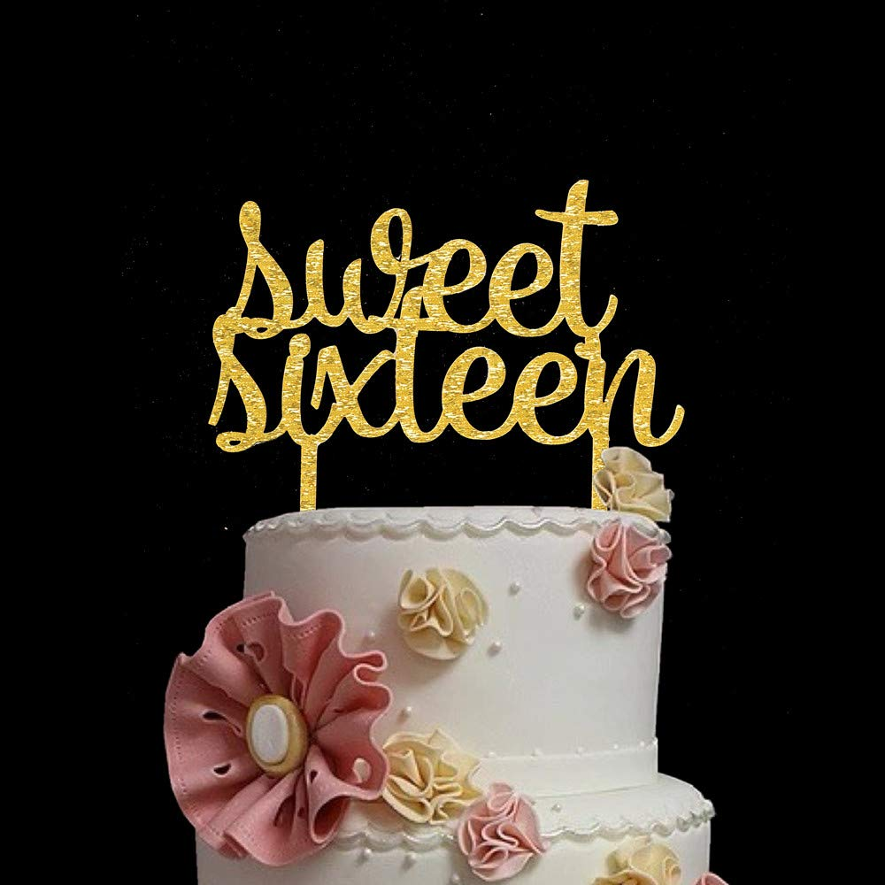 Strange Birthday Decoration 16Th Birthday Cake Topper Sweet 16 Funny Birthday Cards Online Fluifree Goldxyz