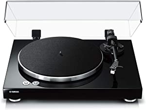 Yamaha TT-S303 Hi-Fi Vinyl Belt Drive Turntable – Piano Black