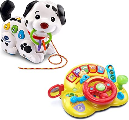 VTech Baby Rattle /&Sing Puppy Frustration Free Packaging Best Gift toy For Kids