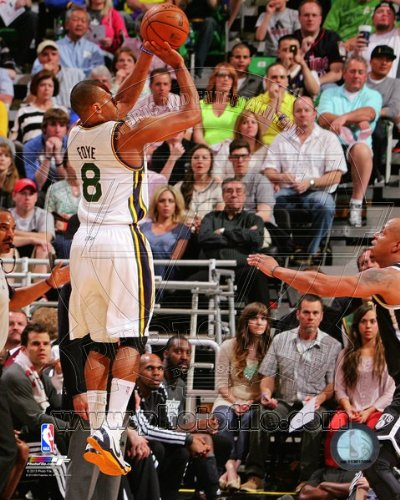 Randy Foye Utah Jazz 2013 NBA Action Photo 8x10