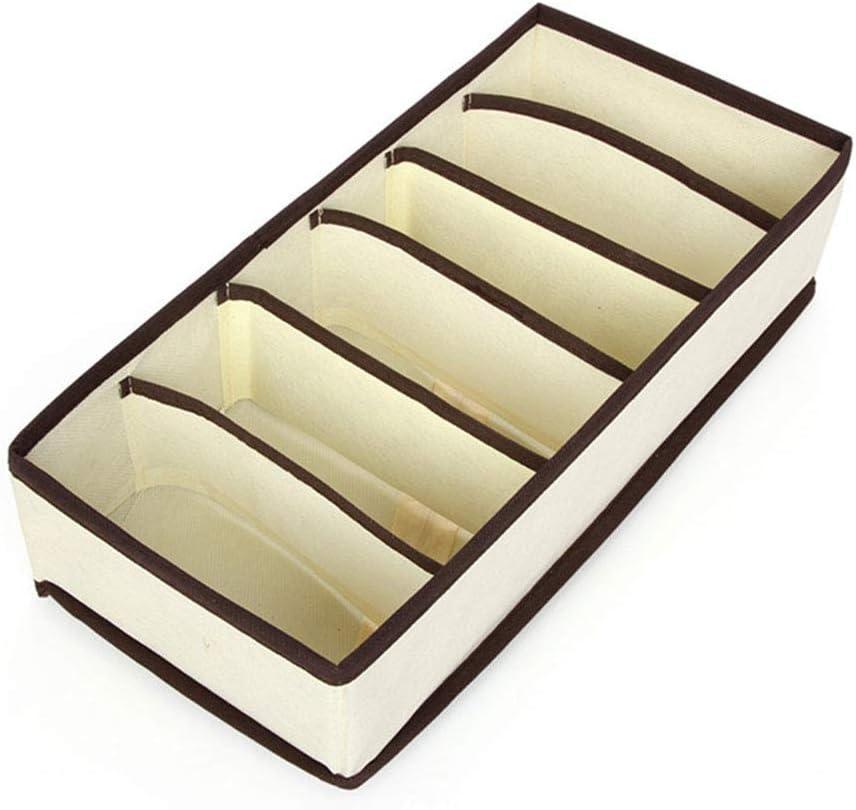 cravates Bo/îte de rangement pour sous-v/êtements s/éparateurs pour organisateur de tiroir chaussettes pour rangement de sous-v/êtements