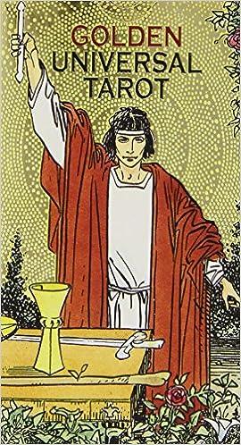Golden Universal Tarot Deck: Lo Scarabeo: 9780738737423 ...