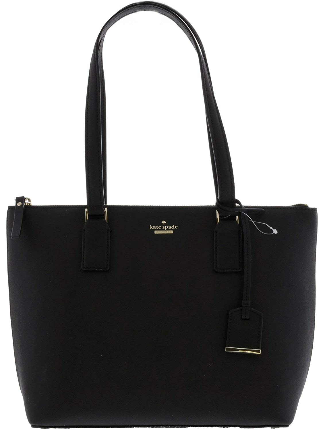 Kate Spade Women's Small Lucie Leather Tote Top-Handle Bag B06XNM12WW ブラック
