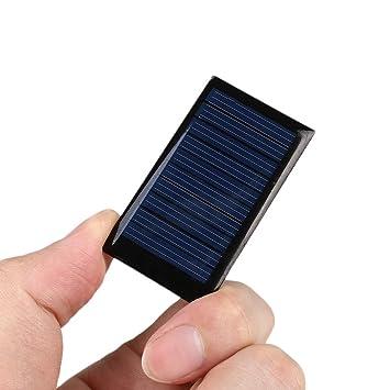 Cewaal Micro Mini Energía Solar Células 5V 0.15W 30mA Módulo ...
