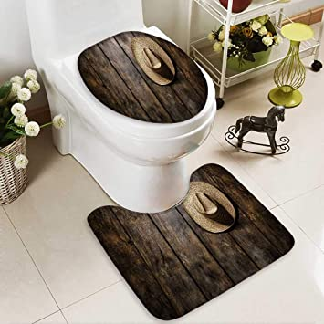 Tremendous Amazon Com Huawuhome 2 Piece Toilet Lid Cover Mat Set Uwap Interior Chair Design Uwaporg
