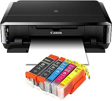 Impresora de inyección de tinta con WiFi, impresora fotográfica y ...